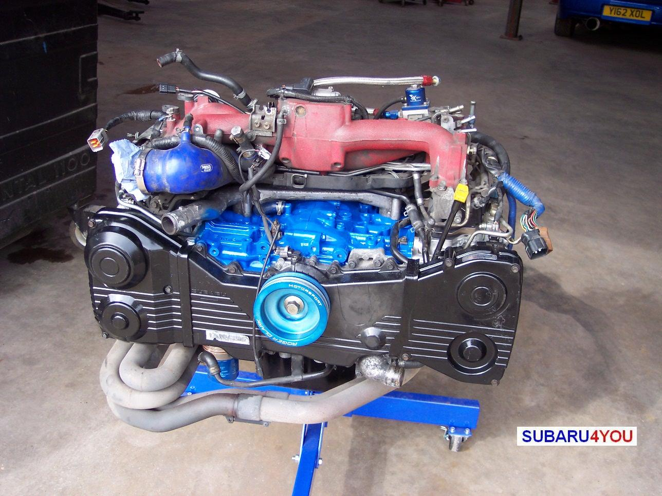 Subaru 2.35 Engine build inlet manifold fitted