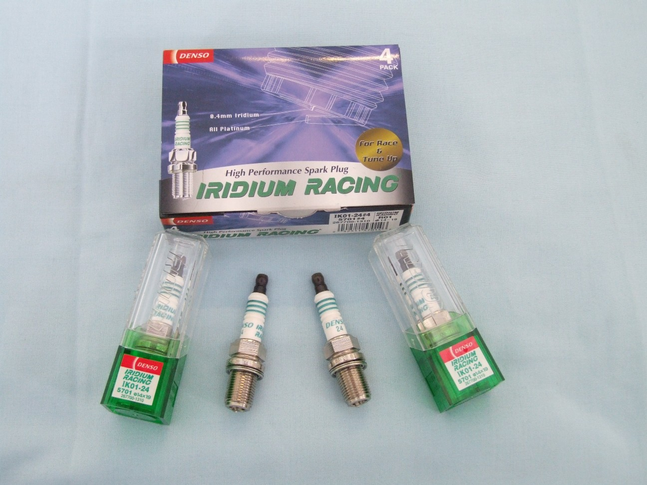 Subaru racing plugs iridium,