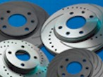 Performance grooved brake discs