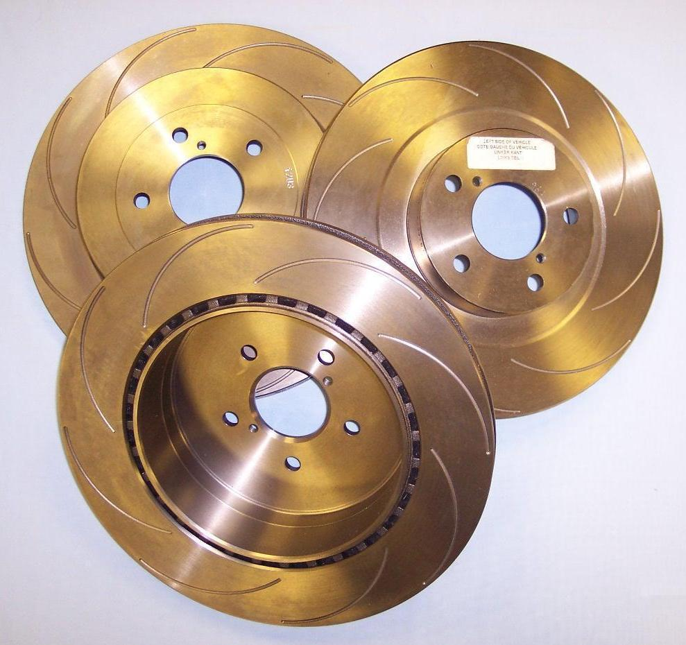 Freeze treated brake discs
