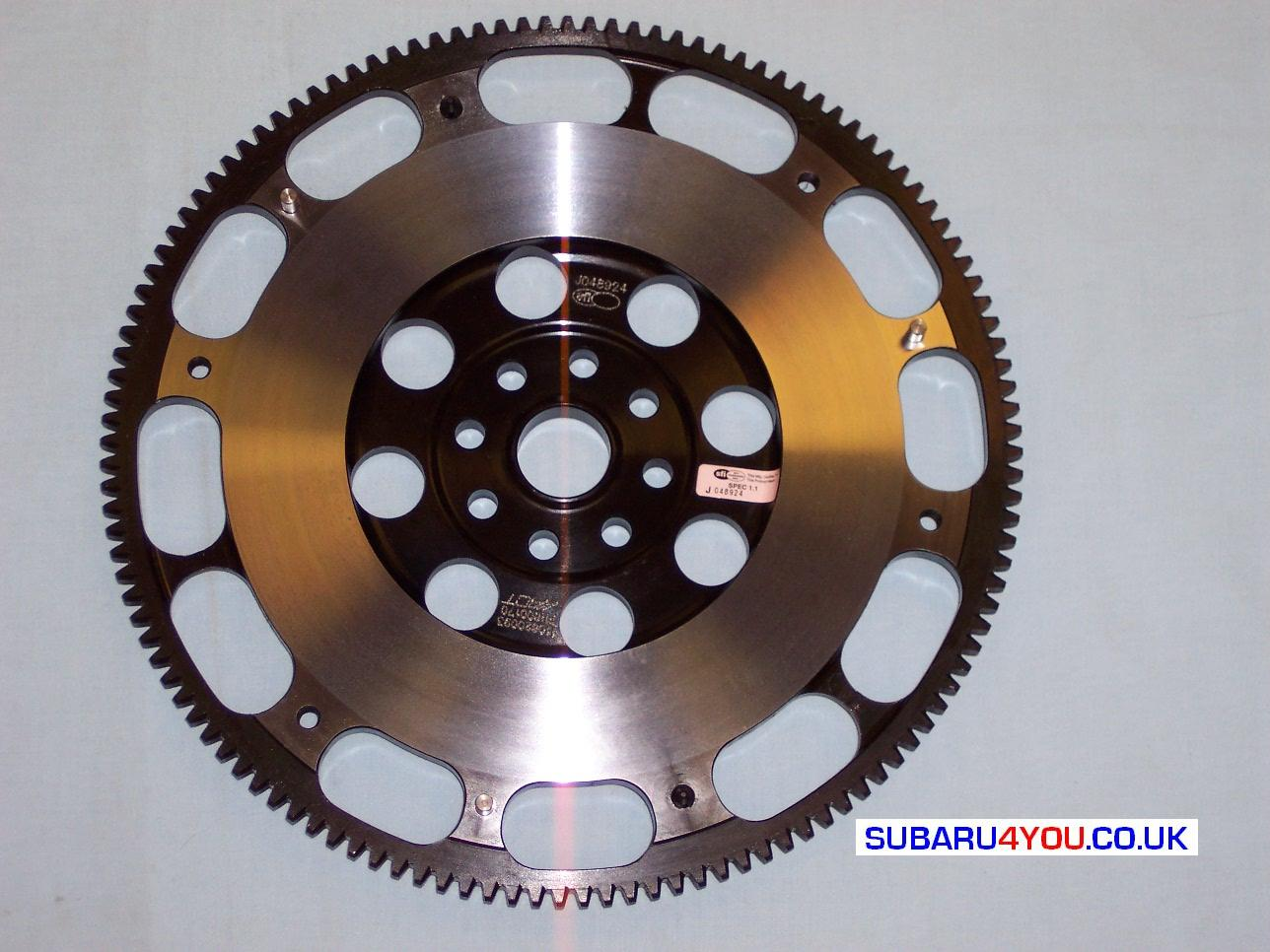 Subaru Lightened Flywheel