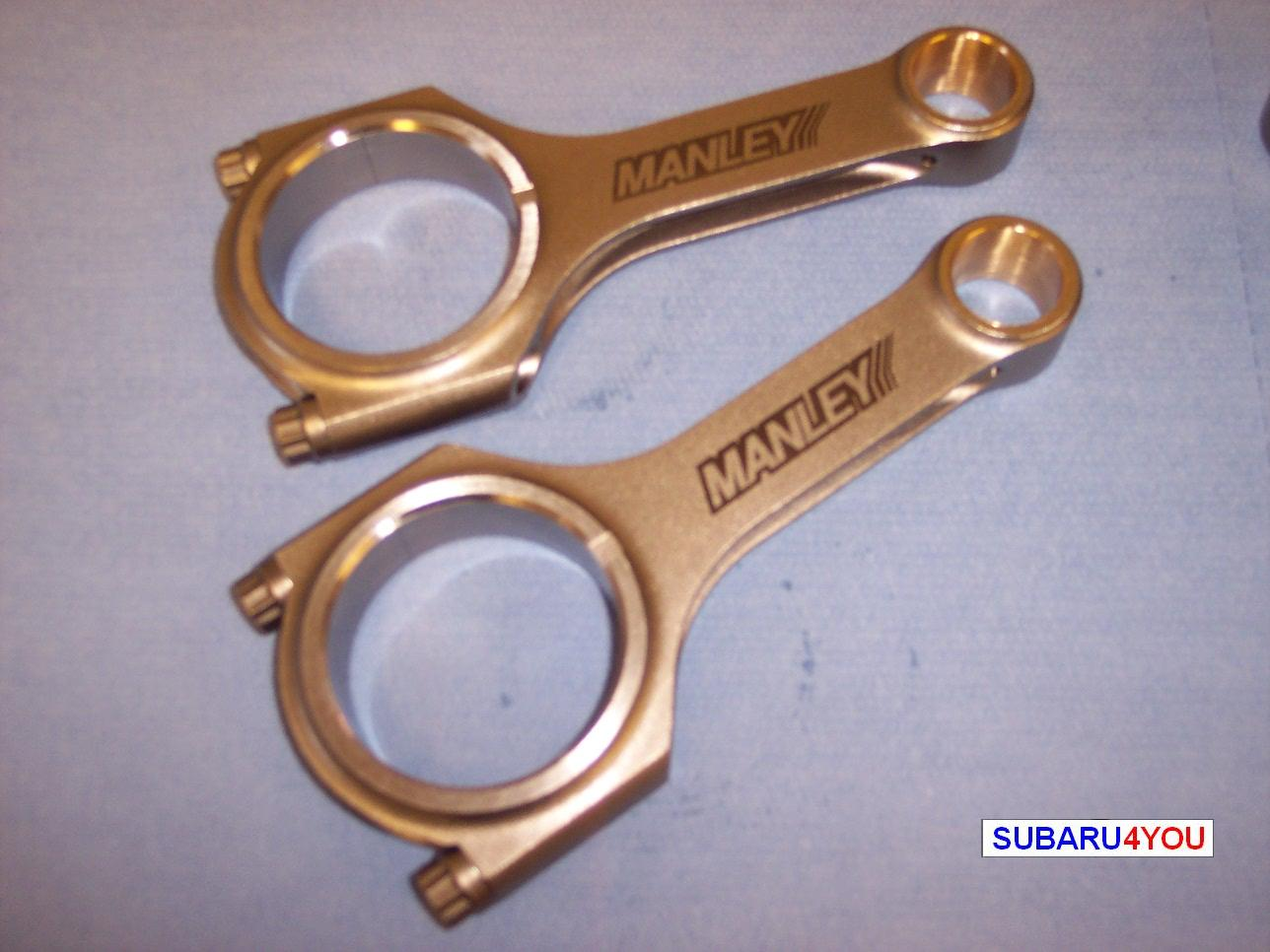 Subaru Conrod,  Manley Steel H Section Conrod