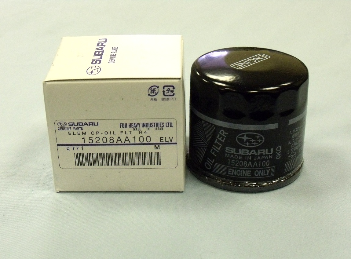 Genuine Subaru oil filter from £11.80