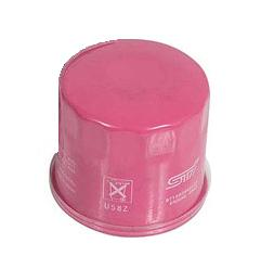 Genuine Subaru STI Pink oil filter from £33.80