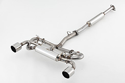 Subaru BRZ Toyota GT86 Cat Back Exhaust