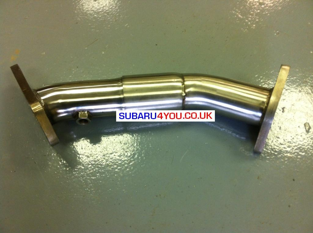Subaru exhaust Hayward and scott Subaru impreza wrx STi Exhaust Uppipe