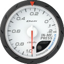 defi advance cr inlet manifold pressure gauge 60mm white