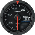 defi advance cr oil pressure gauge 52mm black