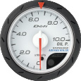 defi advance cr oil pressure gauge 52mm white