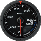 defi advance cr oil pressure gauge 60mm black