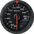 defi advance cr oil temperature gauge 52mm white