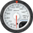 defi advance cr oil temperature gauge 52mm black