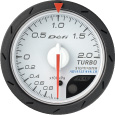 defi gauge Advance CR turbo boost pressure 52mm white