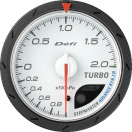 defi gauge Advance CR turbo boost pressure 60mm white