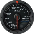defi advance cr water temperature gauge 52mm black