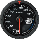 defi advance cr water temperature gauge 60mm black