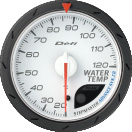 defi advance cr water temperature gauge 60mm white