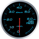 defi gauge blue Fuel pressure