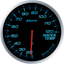 defi gauge blue water temperature