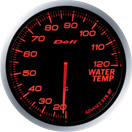 defi gauge red-amber water temperature
