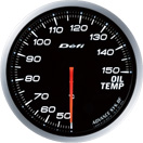 defi gauge white oil temperature