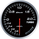 defi gauge white turbo boost pressure £171