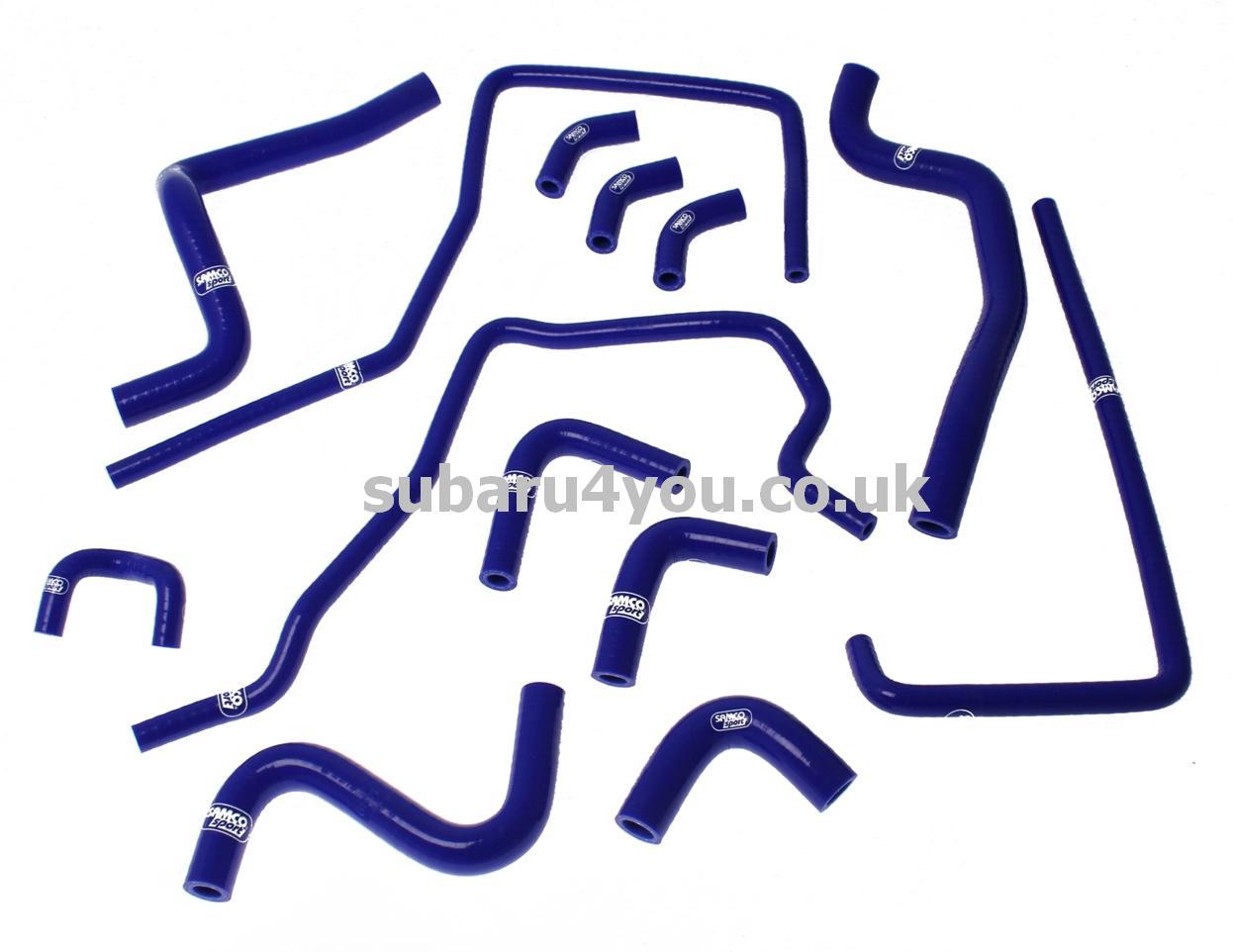 Subaru Parts Uk Genuine Oem 97 Impreza Engine Diagram Silicone Hoses