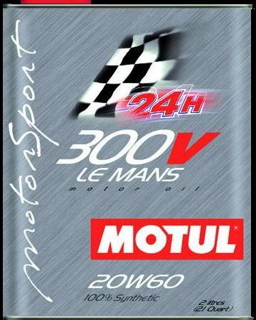 Motul 300V Le Mans 20W/60 Engine Oil