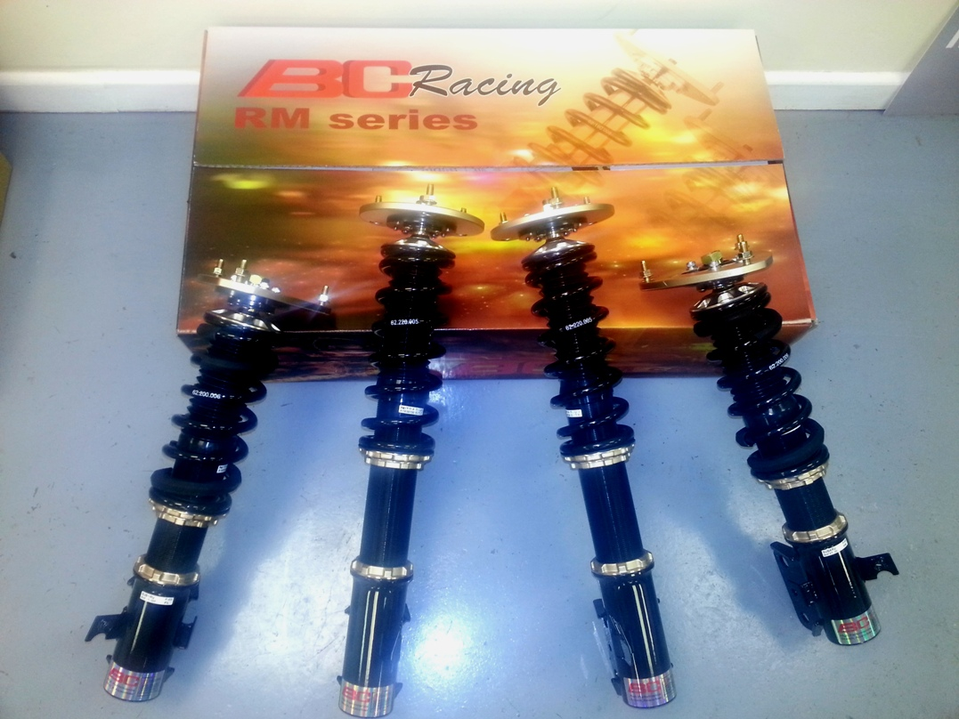 BC Racing coilovers