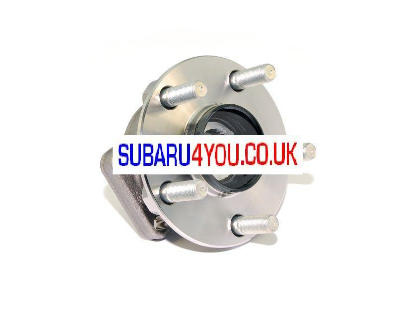 Subaru Front wheel bearing bolt on type
