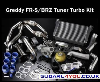 GT86 superchargers are available from Subaru4You
