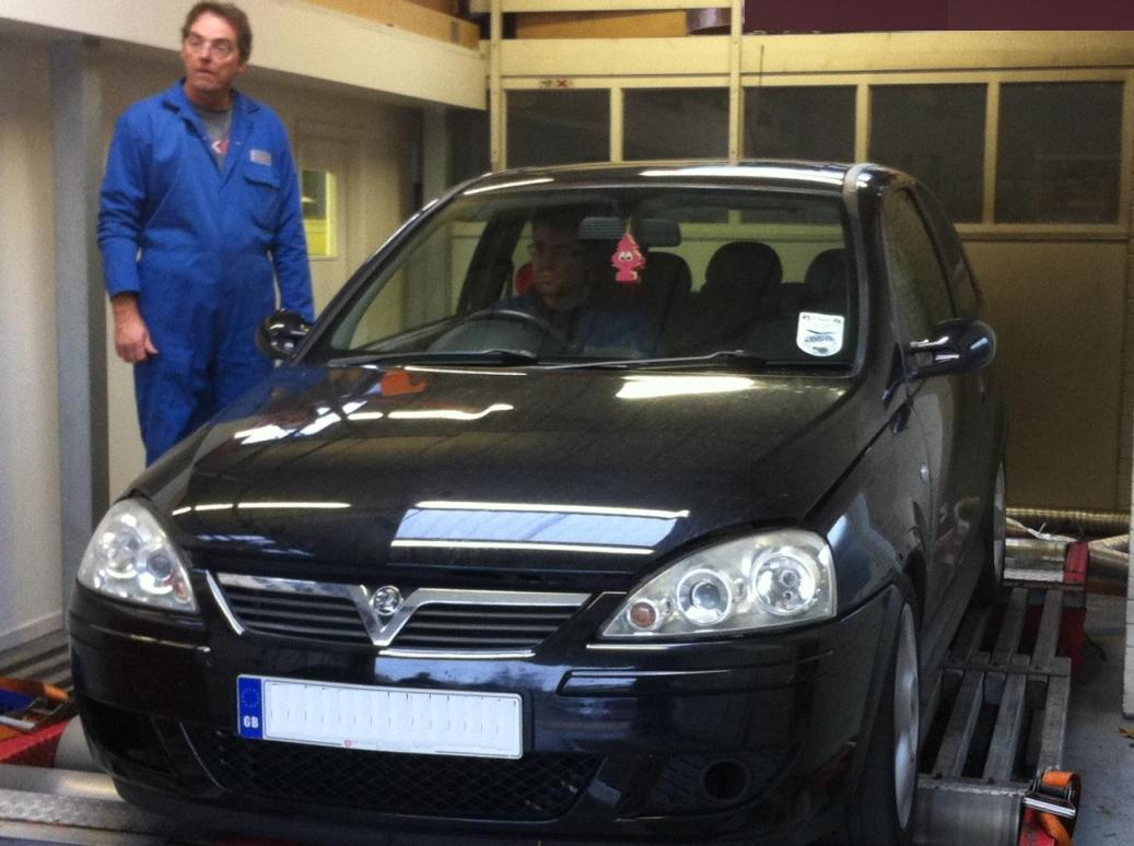 Vauxhall Astra Car on Dyno Rolling Road