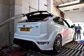 Ford Focus Ford Focus Car on Dyno Dynamics Rolling Road Pictures Pictures