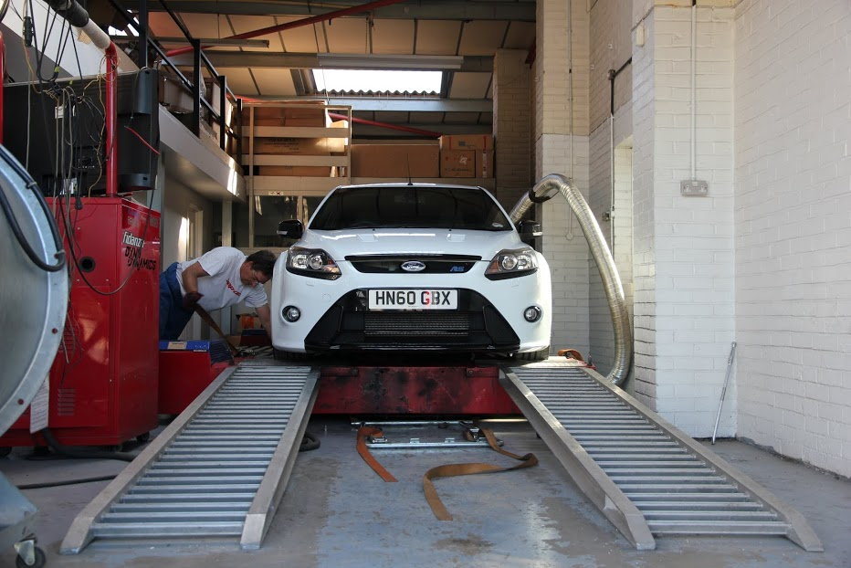 Ford Focus Dyno Dynamics Rolling Road