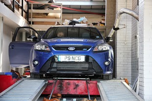 Ford Focus On Rolling Road Pictures Dyno Pictures