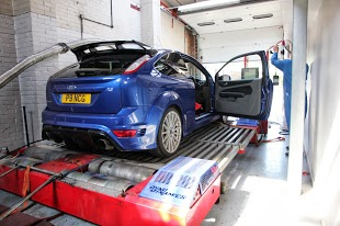 Ford Focus Rolling Road Pictures