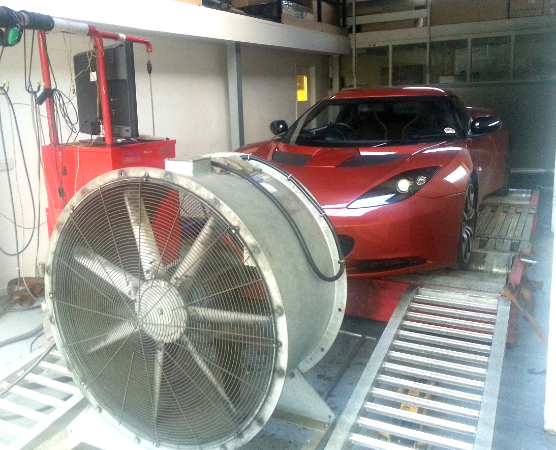 Lotus Evora On Rolling Road Pictures Dyno Pictures