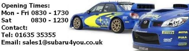 Subaru specialist and Subaru tuning Newbury